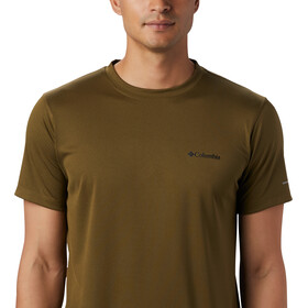 Columbia Zero Rules Chemise manches courtes Homme, new olive